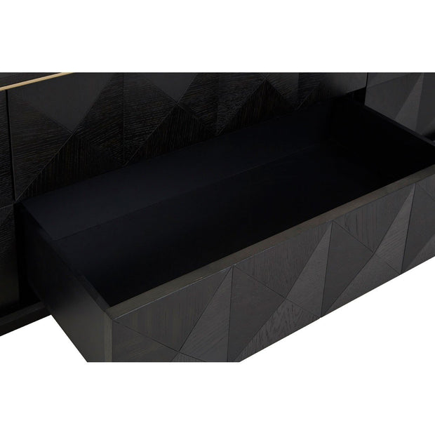 Diamond Black Oak Media Unit