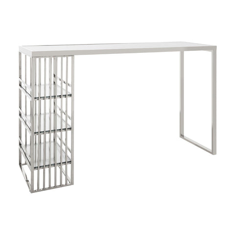 Piermount Bar Table - Silver