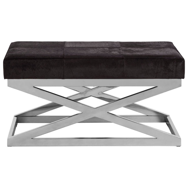 Kensington Townhouse Cross Base Bench