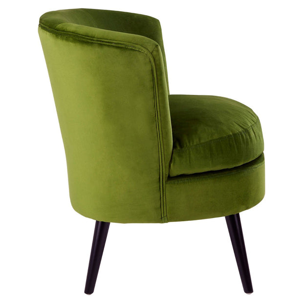 Green Round Armchair