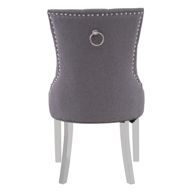 Richmond Dining Chair - Grey - Set of 2