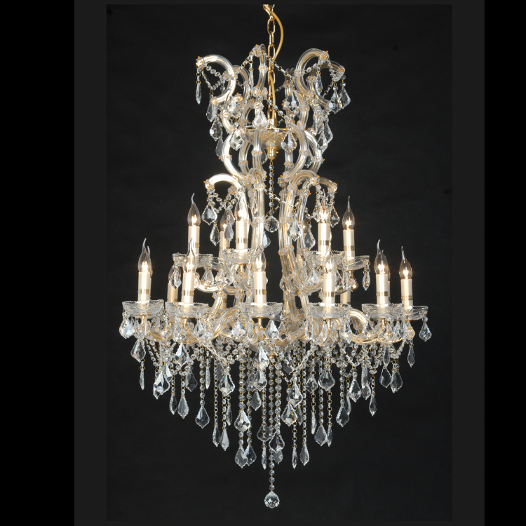 18 Light Chandelier -  - 1