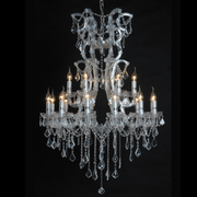 18 Light Chandelier - Allissias Attic  &  Vintage French Style - 1