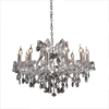 Silver Classic Crystal Chandelier - Allissias Attic  &  Vintage French Style - 1