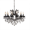 Black Classic Crystal Chandelier - Allissias Attic  &  Vintage French Style - 1