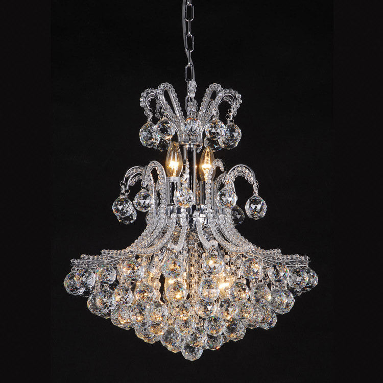 Elegant large crystal ball chandelier silver or gold allissias attic elegant large crystal ball chandelier silver or gold allissias attic vintage french style aloadofball Gallery