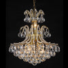 Elegant Large Crystal Ball Chandelier - Silver or Gold - Allissias Attic  &  Vintage French Style - 2