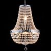 Vintage Basket Chandelier - Allissias Attic  &  Vintage French Style - 1