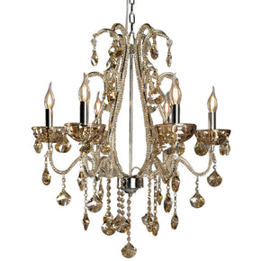 Bejewelled Champagne Chandelier - Allissias Attic  &  Vintage French Style
