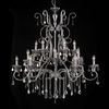 Glamorous Beaded Chandelier - 18 Lights - Allissias Attic  &  Vintage French Style - 2