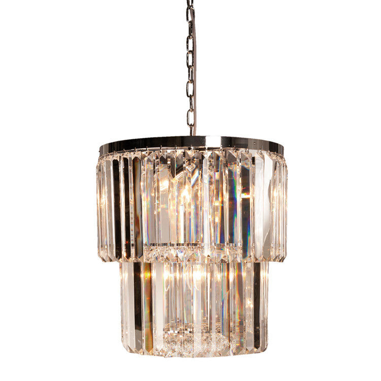 Déco Styled Crystal Prism Chandelier - 460mm - Allissias Attic  &  Vintage French Style