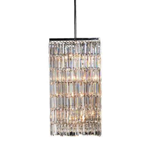 Deco Styled Crystal Prism Chandelier 450mm - Allissias Attic  &  Vintage French Style