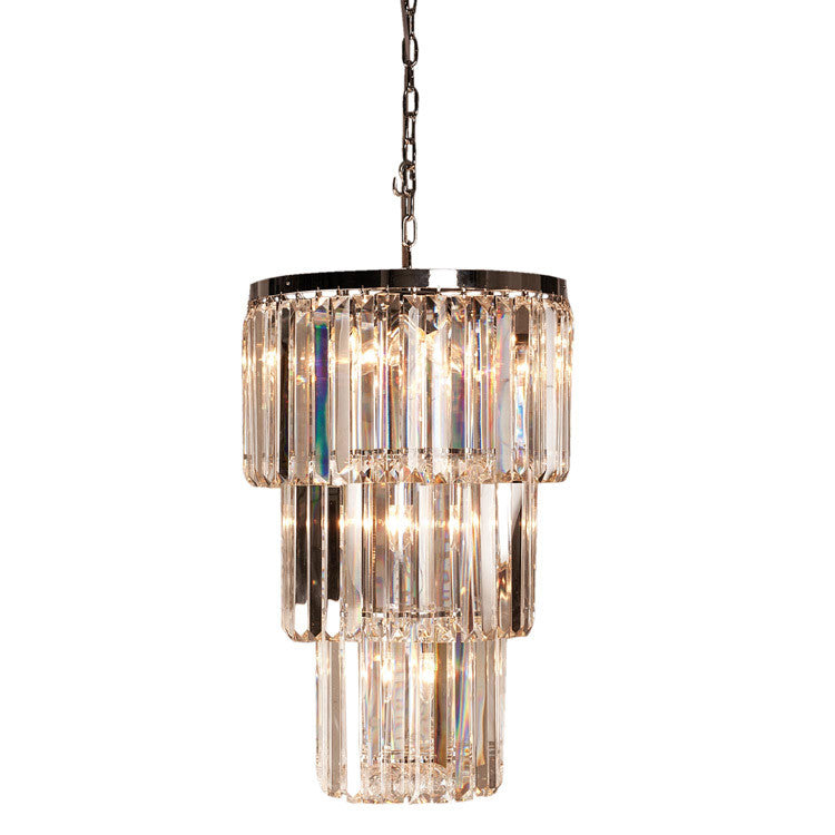 Décor Styled Crystal Prism Chandelier - 470mm - Allissias Attic  &  Vintage French Style