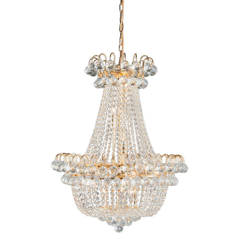 Amazing large Crystal Basket Chandelier - Allissias Attic  &  Vintage French Style