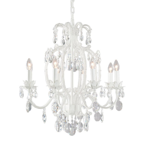 Romantic Curved Arm Chandelier