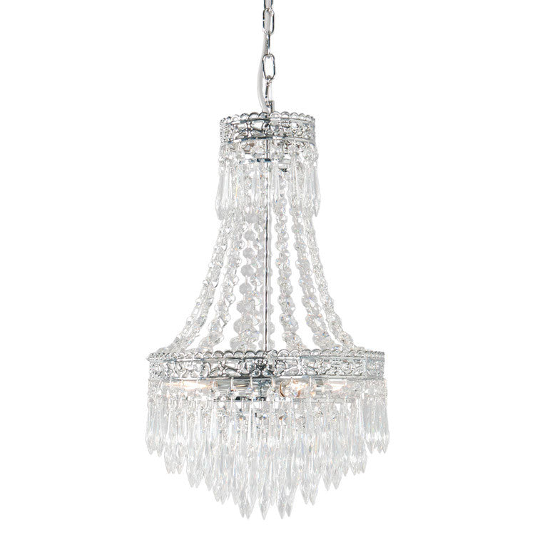 Two Tier Chandelier with Elegance - Allissias Attic  &  Vintage French Style