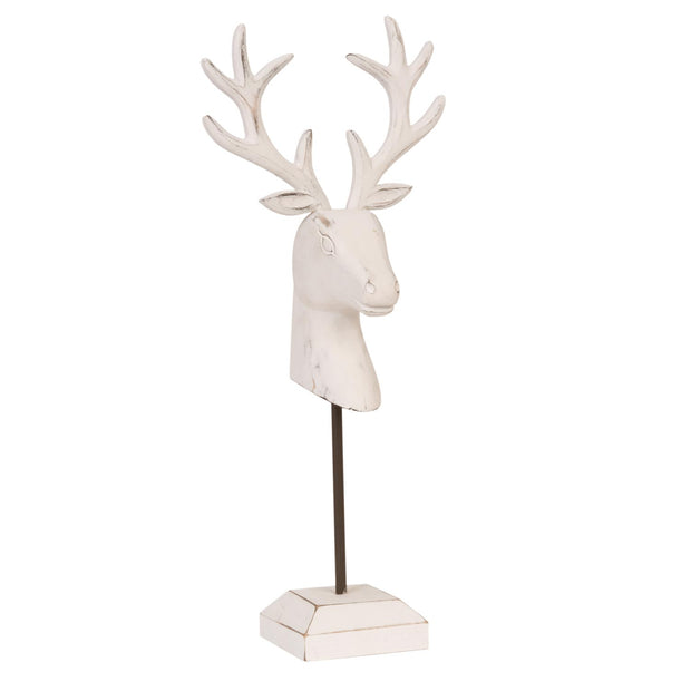 White Deer on Stand