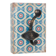 Ornate Wall Hooks on Plaque - Small