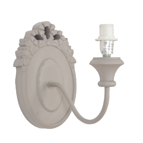 Elegant Carved Detail Wall Sconce - Allissias Attic  &  Vintage French Style