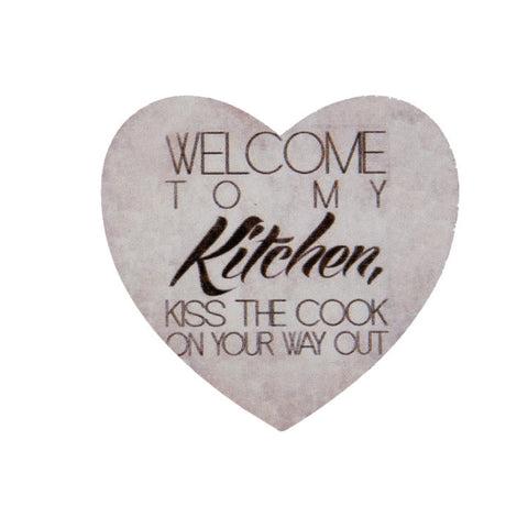 Welcome To My Kitchen Magnet - Allissias Attic  &  Vintage French Style