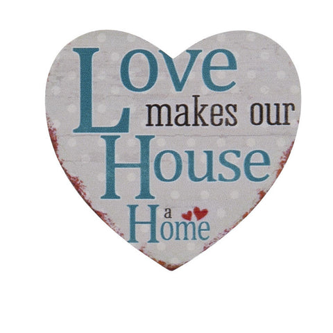 Love Makes Our House a Home Magnet - Allissias Attic  &  Vintage French Style