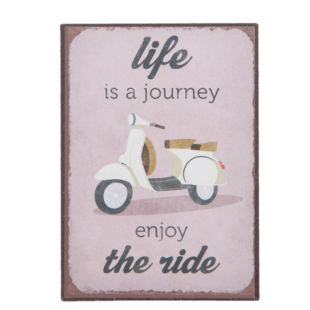 Life is a Journey Magnet