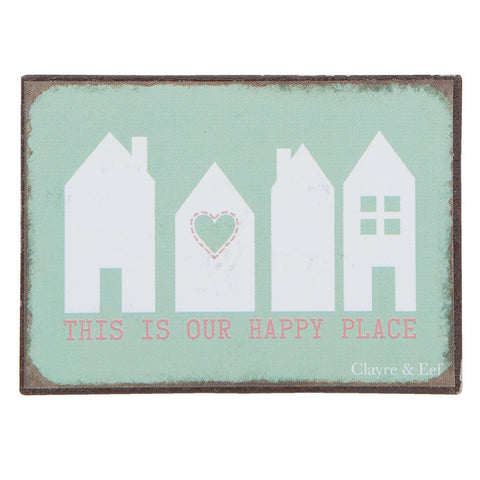 This Is Our Happy Place Magnet - Allissias Attic  &  Vintage French Style