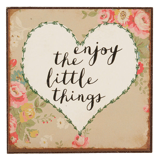 Enjoy the Little Things Magnet