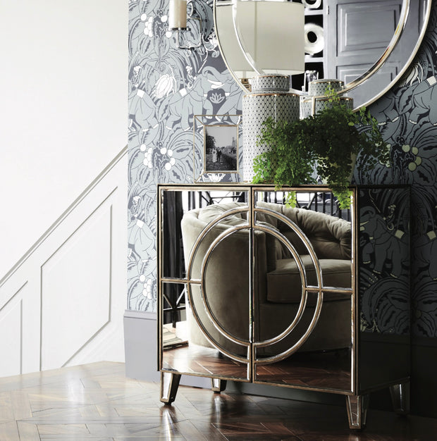 Claridge Circle Link Wall Mirror