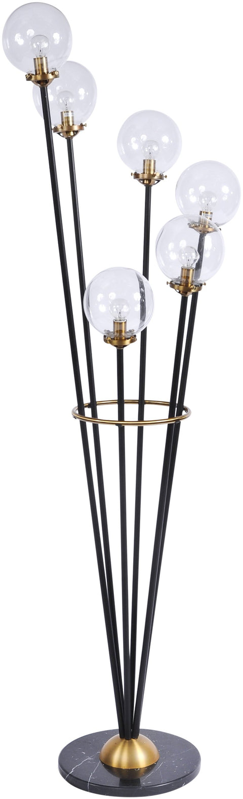 Mercer Floor Lamp with Ball Detail