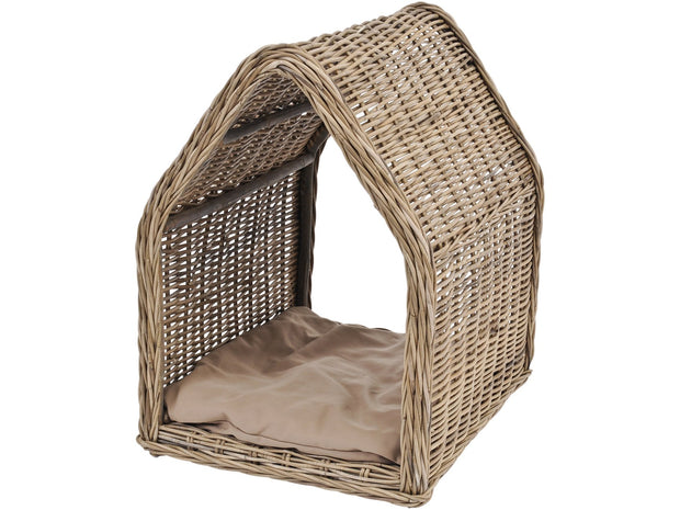Toba Rattan Dog Kennel