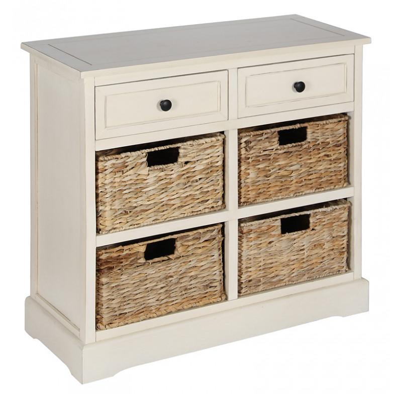 Hamptons Style Storage Units in 2 Sizes - Allissias Attic  &  Vintage French Style - 1