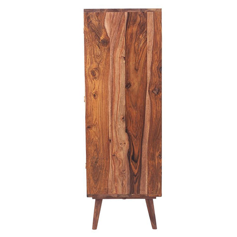 Taj Sheesham Wood Honeycomb Tallboy