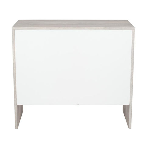 Marble Wood Veneer 3 Drawer Chest