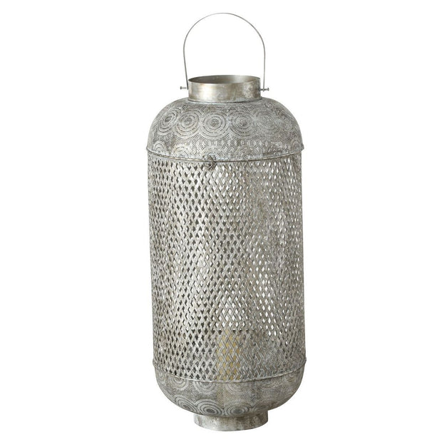 Olio Lantern - Silver - Set of 2