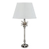 Palm Tree Table Lamp - Nickel - Allissias Attic  &  Vintage French Style - 2