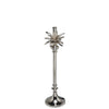 Palm Tree Table Lamp - Nickel - Allissias Attic  &  Vintage French Style - 1