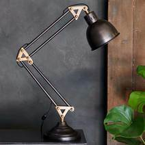 Akono Industrial Styled Desk Lamp