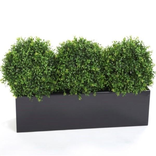 Artificial Boxwood Ball Topiary