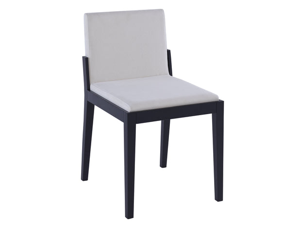 Dining chair - off white fabric