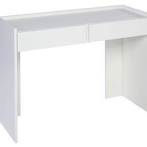 Dressing Table with White, Oak or Walnut Feature