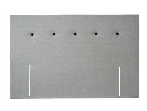 King Headboard with sIngle Buttoned Row Detail