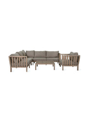 Porthallow Corner Sofa Set - Acacia