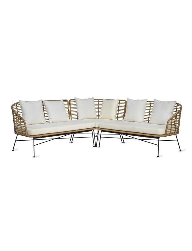 Hampstead Bamboo Corner Sofa