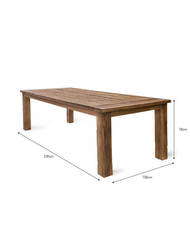 St Mawes Dining Table - 2300mm