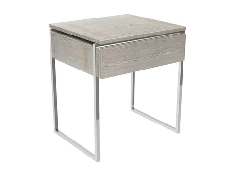 Metal Framed Bedside or Side Table
