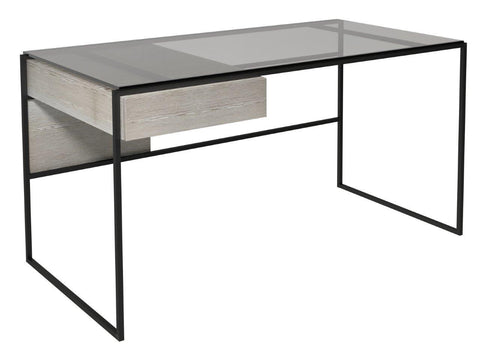 Metal Framed Dressing Table or Desk