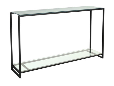 Metal Framed Console Table