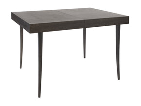Charcoal Veneer Extendable Dining Table