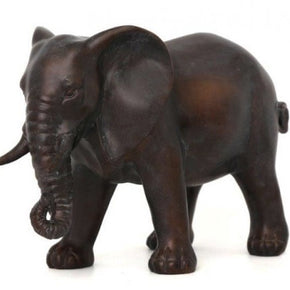 Bronzed Elephant Ornament